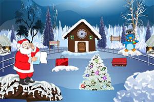 圣诞老人逃出雪山
