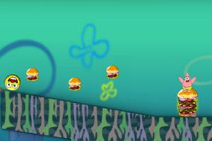 海绵宝宝怒吃汉堡