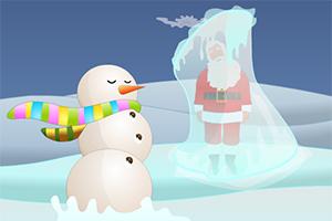 寒冷的圣诞节逃脱3