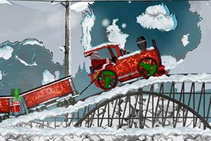圣诞老人开火车