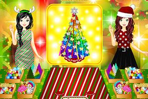 装饰圣诞树大挑战