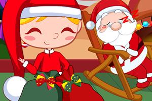 圣诞节偷个懒