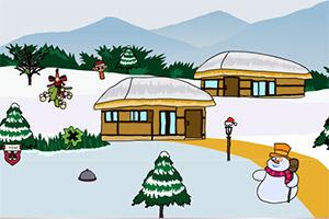 圣诞大雪山逃脱