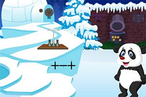 熊猫圣诞节逃脱
