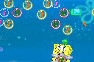海绵宝宝海底泡泡龙