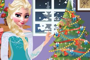 艾莎的圣诞节购物