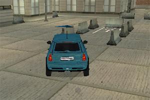 3D城市道路停车