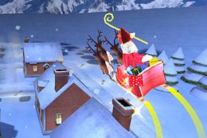 3D圣诞老人发礼物