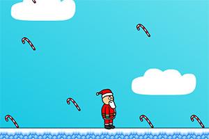 圣诞老人接糖果