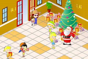 忙碌的圣诞节
