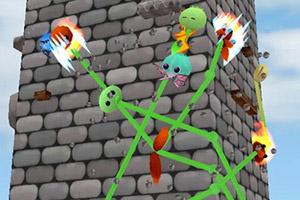 食人花爬高墙