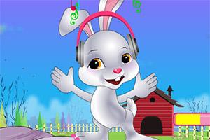 照顾可爱小兔兔