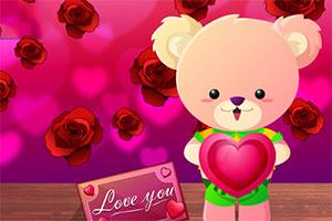 情人节的泰迪熊