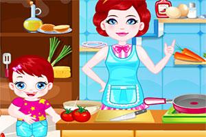 露露宝贝进厨房