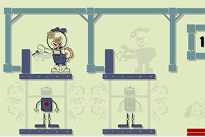 海绵宝宝的机器人工厂