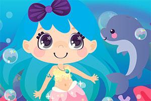 卡哇伊的美人鱼公主