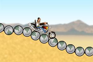 沙漠摩托挑战赛