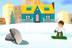 少年骇客滑雪板