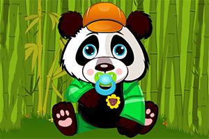 照顾婴儿熊猫