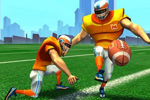3D美式足球