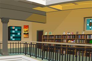 逃离豪华图书馆