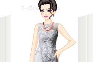 高领婚纱礼服