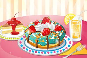 可爱的甜甜圈