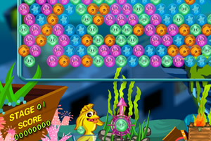 海底鱼儿泡泡龙