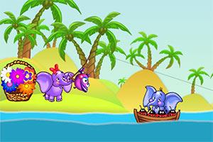 小象摘花3