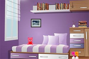 逃离紫色孩子房间