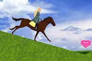 芭比爱骑马