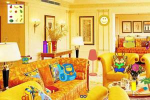 黄色主题房间寻物