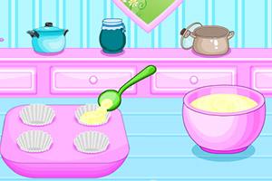 春季纸杯蛋糕