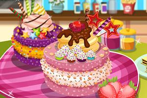 美味的甜点蛋糕
