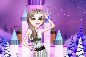 冰雪公主的装扮