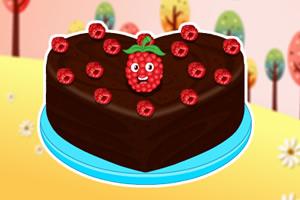 巧克力树莓蛋糕