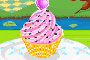 草莓柠檬杯子蛋糕