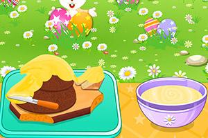 大黄鸭蛋糕