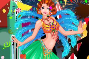 里约狂欢节女孩