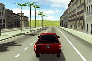 3D汽车城市试驾