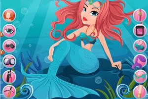 美人鱼的美容水疗