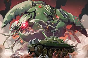 坦克大战小龙虾无敌版