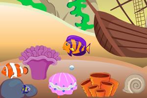 深海小鱼成长