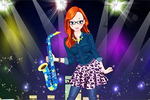 音乐节女孩