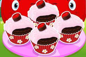 巧克力樱桃蛋糕