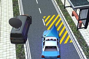 3D警察紧急停靠