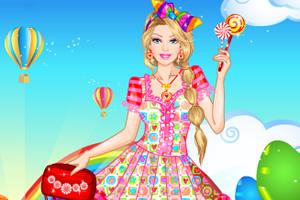 芭比公主棒棒糖