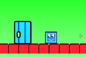 蓝方块冒险路