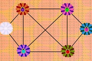 花朵与瓢虫