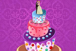奶油婚礼蛋糕
